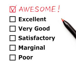 Score sheet Customer Service